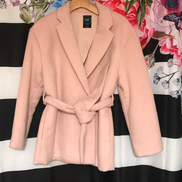 GAP Jackets & Blazers - NWT Light Pink wool jacket
